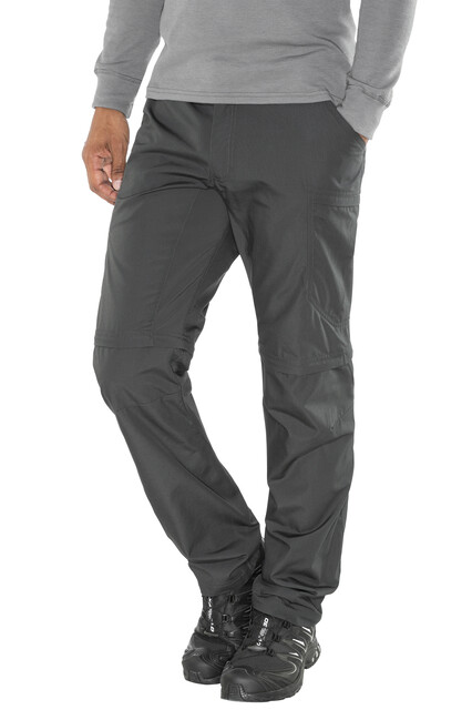 Lundhags M's Nybo Zip Off Pants Charcoal